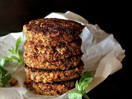 white bean burger